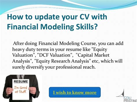 Certification Courses In Finance After Mba by Why Do Financial Modeling Course