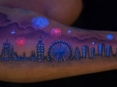 glow in the dark tattoo london 15 best glow in the dark tattoos
