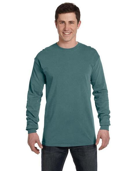 comfort colors blue spruce comfort colors c6014 ringspun t shirt apparelnbags