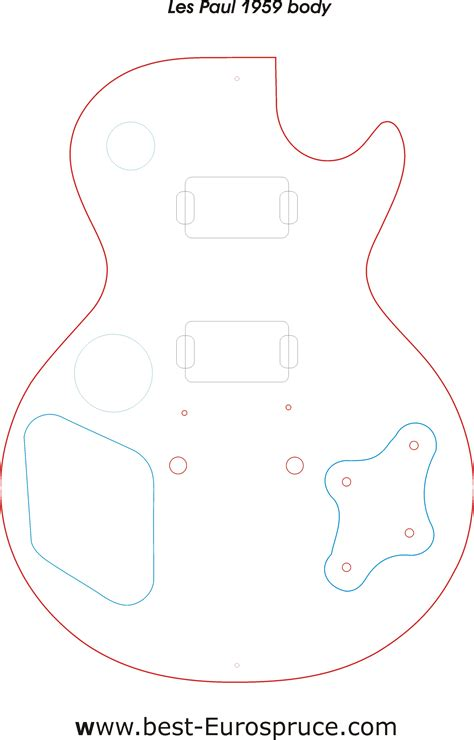 les paul routing template ideas january 2015