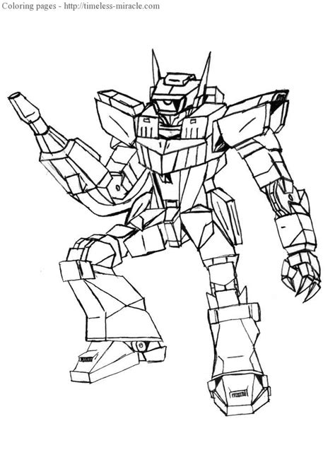 Coloring Pages Transformers by Scorponok Free Transformer Coloring Pages Coloring Page