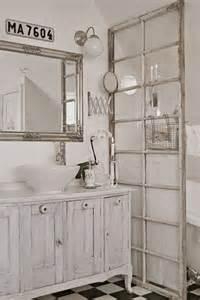 Window Curtain For Shower 26 Adorable Shabby Chic Bathroom D 233 Cor Ideas Shelterness