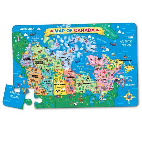 ts shure map  canada jumbo floor puzzle walmart canada