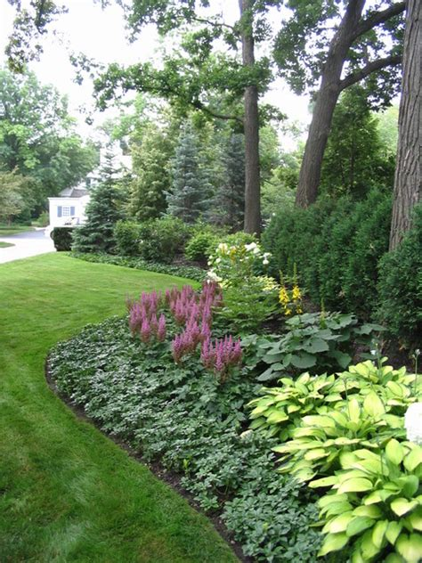 informal garden winnetka illinois traditional landscape chicago by schmechtig landscapes