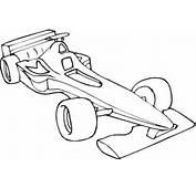 Kolorowanka Samoch&243d Formuły 1  Kolorowanki Dla Dzieci Do
