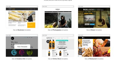 wix templates for wix review beautiful easy to use website builder with