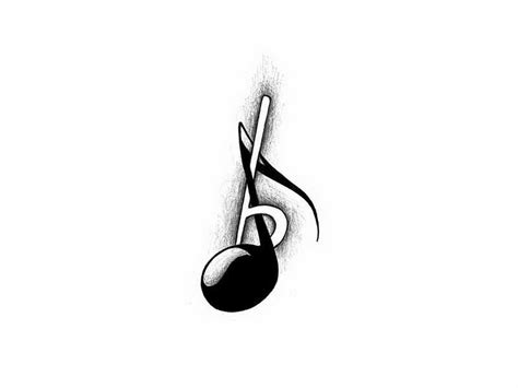 free mudic cool music note tattoo designs www pixshark com images