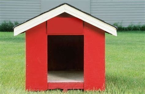 painted dog houses how to paint a dog house
