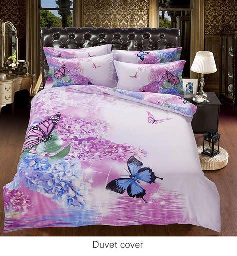 butterfly comforter queen popular purple flower comforter buy cheap purple flower