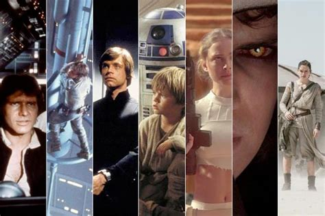 actor in every star wars movie all 9 star wars movies ranked from worst to best
