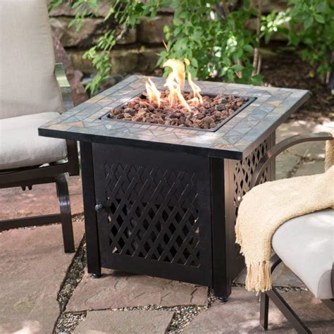uniflame propane pit table 17 best ideas about pit table on deck