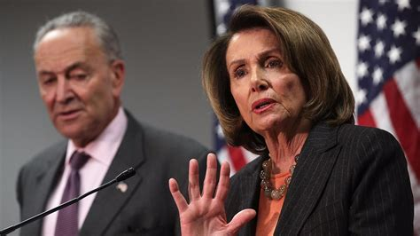 the context behind nancy pelosis famous we have to pass trump rips weak no show democratic leaders for standing