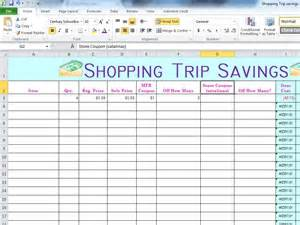 my coupon spreadsheets indy s coupon