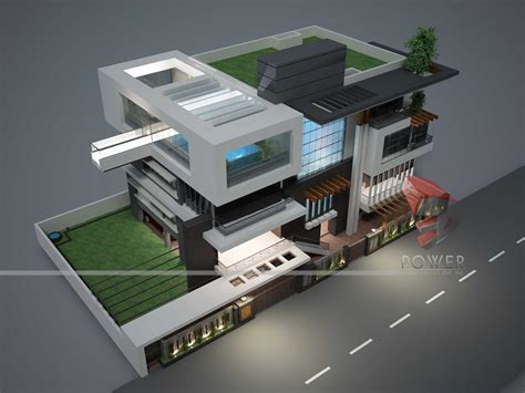 design 3d ultra modern house plans designs
