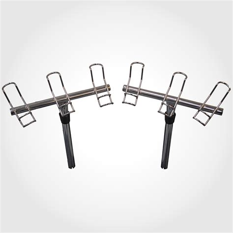 Boat Rod Racks by Pair Of 3 Way Rod Holders Marine 316 Stainless Steel Boat