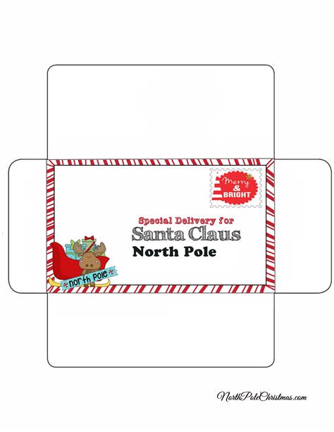 20 Letters To Santa And Printable Envelopes Christmas | 20 letters to santa and printable envelopes christmas