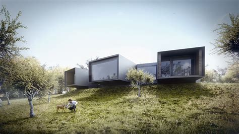 in house 3d visualization house in alentejo architectural