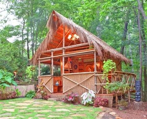 Tiki Hut Ideas Backyard Tiki Hut Gardening Landscaping Outdoor
