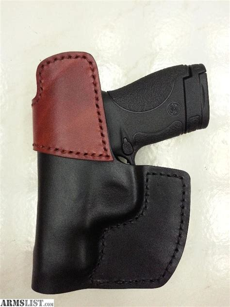 Handmade Leather Holster - armslist for sale handmade leather iwb holster for