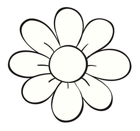 imagenes para colorear flor image gallery dibujo flor