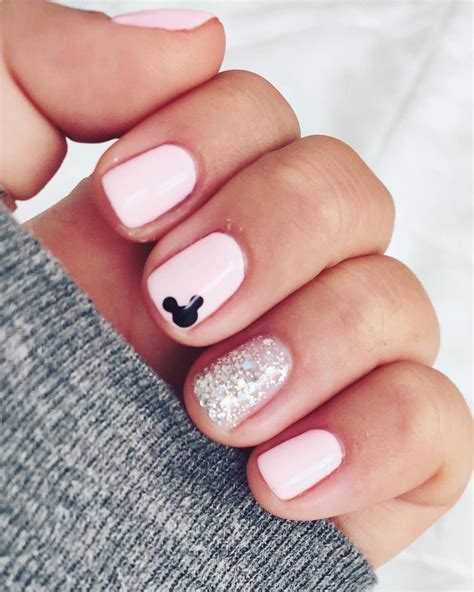 disney pattern nails gorgeous metallic nail art designs that will shimmer and