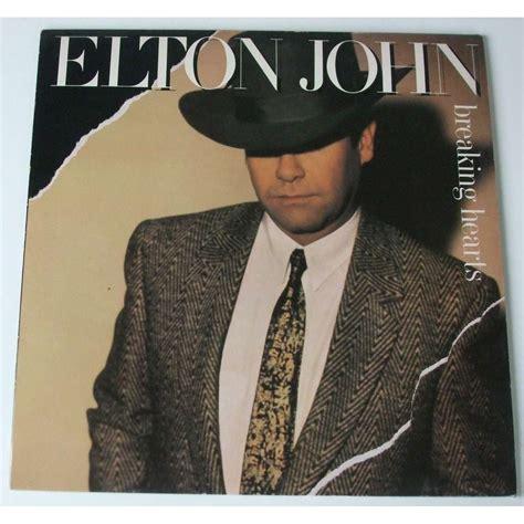 elton john zoom breaking hearts by elton john lp with dom88 ref 118132439