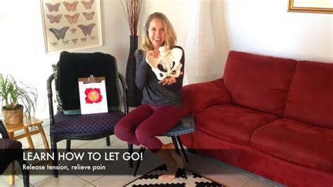 pelvic drop  release pelvic floor tension  visualizations youtube