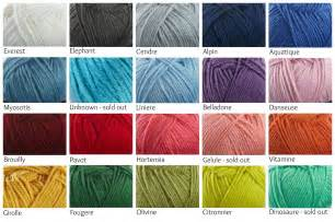 i this yarn color chart my valley blanket colors