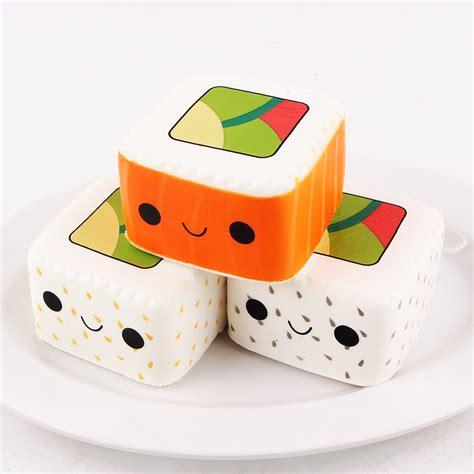 I Sushi Type B By Sanqi Elan sanqi elan squishy simulated square sushi rebound for