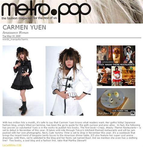 Metropop To Tokyo To metro pop s fashion style magazine feature
