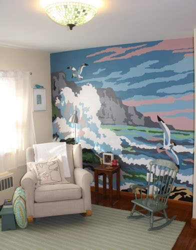 how to paint a wall mural in a bedroom paint by number wall mural easterkiwi