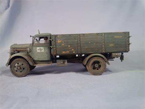 german opel blitz truck opel quot blitz quot italeri kit scale 1 35 model by bm
