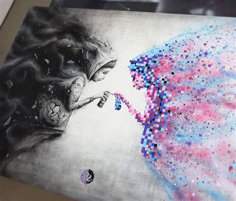 black mirror drawing  pez art