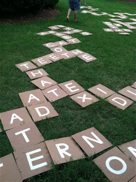 diy backyard scrabble diy giant yard scrabble all gifts considered