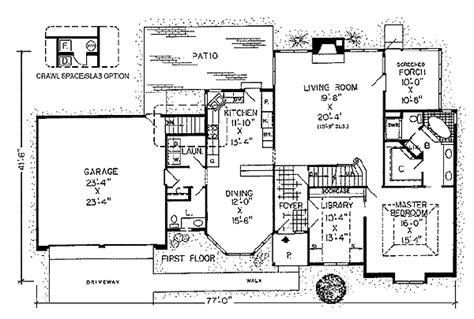 Tudor Style Floor Plans by Proper Tudor Style Home Plan 1045g 1st Floor Master