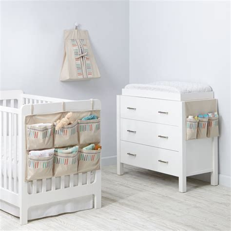 nursery organization diaper storage the land of nod