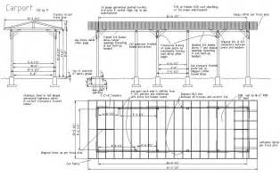 construction plans carport construction
