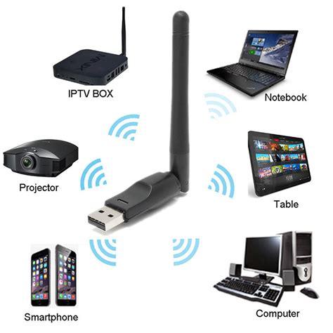 Tv Wifi 2 4g wifi usb wireless lan adapter with antenna for mac