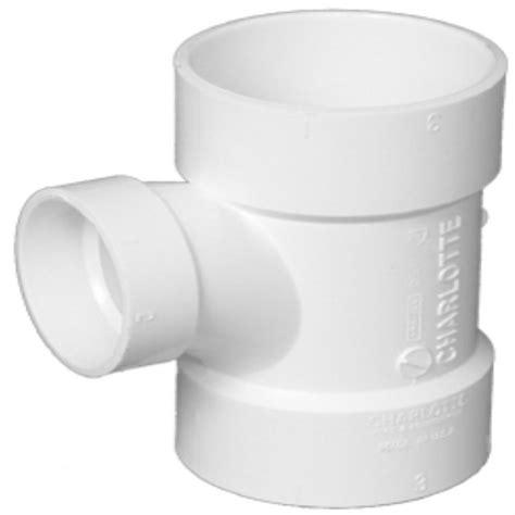 pipe 8 in x 8 in x 4 in pvc dwv hub x hub