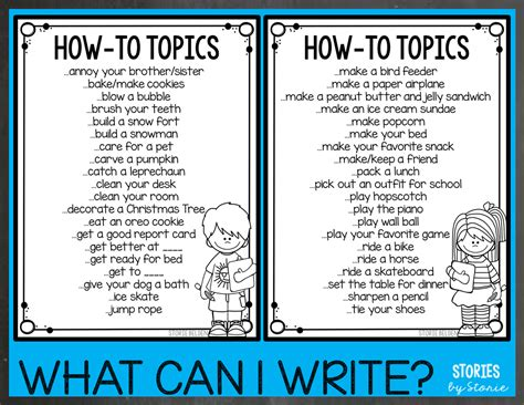 how to create a thesis topic how to writing for 2nd graders