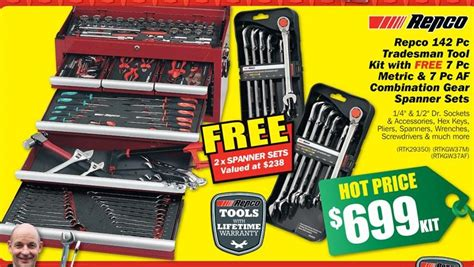 Garden Forums by Repco 142 Pc Tradesman Tool Kit 699 At Repco 171 Cashme