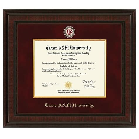 Georgetown Mba Diploma Frame by A M Diploma Frame Excelsior