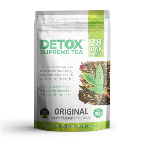 B4y Organic Detox Green Tea Reviews by Supreme Detox Tea 28 Day Supply Detox Supreme Tea