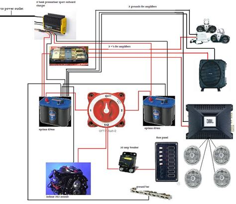 dual battery charging w diagram archive through