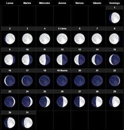Calendario Lunar Octubre 2017 El Calendario Lunar Noviembre 2017 Para Huerto Y El Jard 237 N