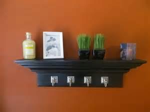 custom made wall shelves custom made 30 quot black crown molding floating wall shelf