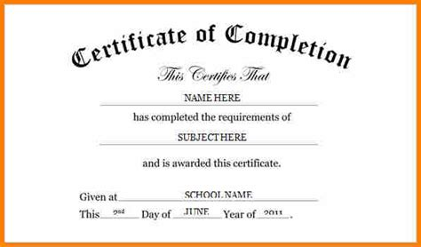 word template certificate of completion 3 certificate of completion word template resume reference