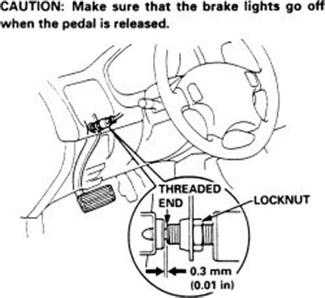92 Soket Map Sensor Honda City Rs repair guides brake operating system brake light switch autozone