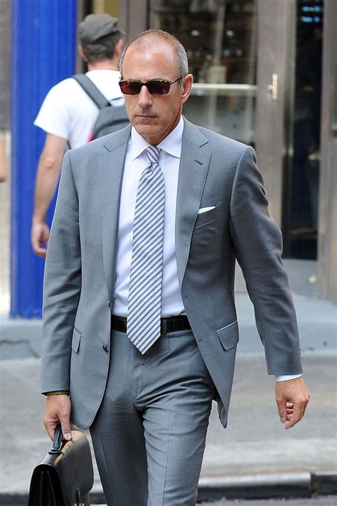 what man does matt lauer think is so handsome nbc news hunks commercialhunks