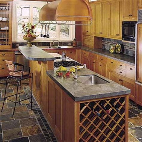78 ideas about narrow kitchen island on pinterest long kitchen islands prep sink wine storage and breakfast bars